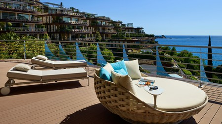 Enjoy sweeping ocean views from your room at Dukley Hotel & Resort in Budva, Montenegro