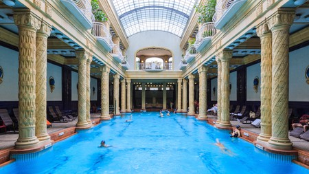 Gellert, in Budapest, is one of the city's many thermal baths worth a visit