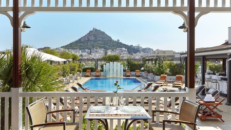 Soak up views of the Acropolis from the rooftop pool at these exceptional properties in Athens