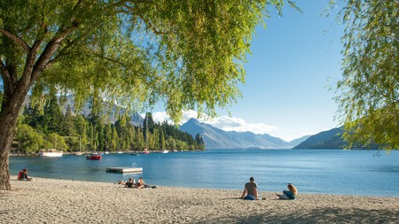 If you're looking to relax on the shores of Lake Wakatipu, New Zealand, you'll need to apply in advance for a NZeTA