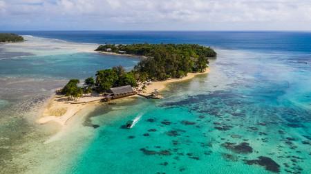 Erakor island in Port Vila, Vanuatu