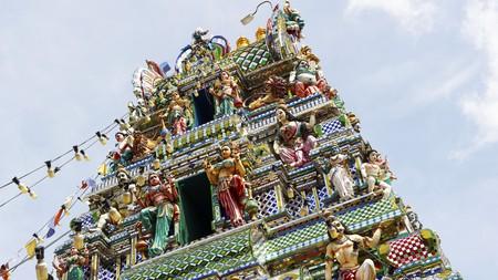 The Arulmigu Sri Rajakaliamman temple in Johor Bahru