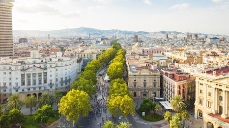 Stay in the thick of it in Barcelona by checking into a hostel near La Rambla