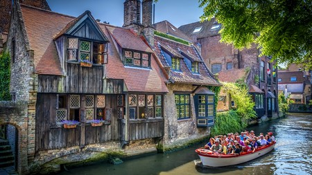 Stay in a spectacular 16th-century house overlooking the canal