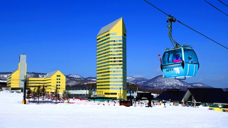Escape the tourist crowds in Appi Kogen and opt for a stay at the Hotel Appi Grand