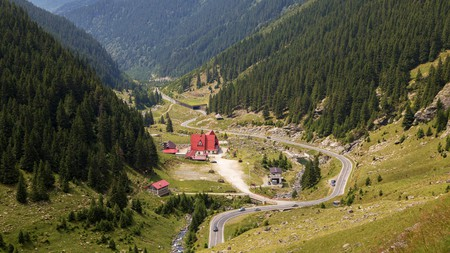 Transfăgărășan is one of the most beautiful roads in the world