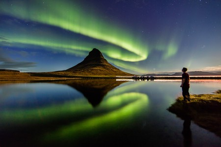 Get front row seats for the aurora borealis at an Icelandic B&B