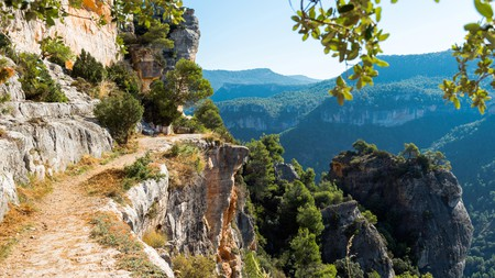 The scenic village of Siurana is steeped in history and attracts keen hikers from all over the world