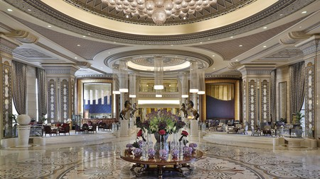 Saudi Arabia's natural beauty is matched by the opulent interiors of Riyadh's premium hotels