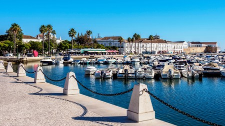 Make sure to visit the marina when you visit Faro in the Algarve