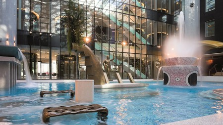 relieve tension at Tallink Spa and Conference Hotel