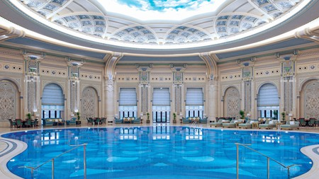 The ornate Ritz-Carlton, Riyadh
