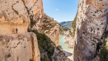 Congost de Mont-Rebei has flora and fauna aplenty, with lots of excellent hiking trails