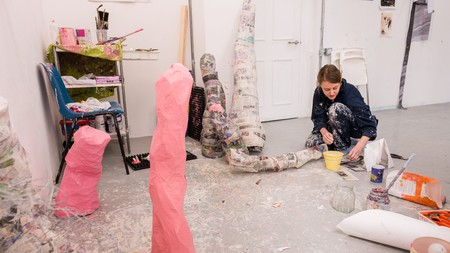 The City and Guilds of London Art School has a variety of departments, including fine art and historic carving