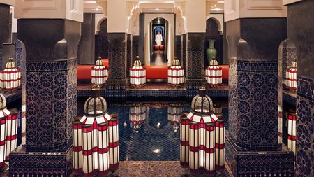 La Mamounia's spa is one of the best in Marrakech, with a gorgeous atmosphere transporting you far from the bustling medina