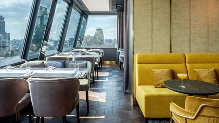 Enjoy rooftop dining and city views on a getaway to Kyiv
