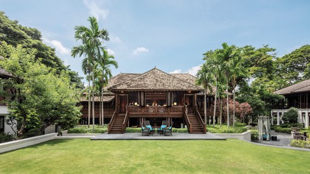 137 Pillars House, set in the 19th-century former headquarters of the Borneo Company, is renowned as one of the best places to stay in Thailand