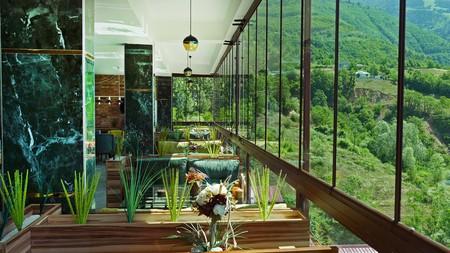 Enjoy lush valley views at Dergiz Tatil Koyu, one of Artvin's top places to stay