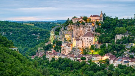 If you start your Camino de Santiago journey in France, you'll have the chance to walk to Rocamadour