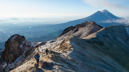 Get your heart pumping with a day climbing Iztaccihuatl volcano