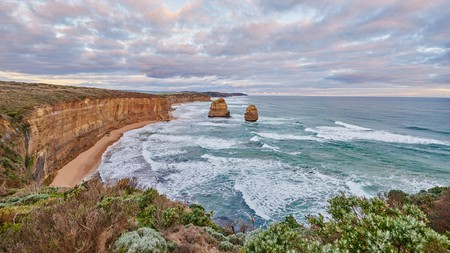 Visiting Australia's sights, such as the Twelve Apostles, in winter means cooler but still comfortable temperatures and fewer crowds