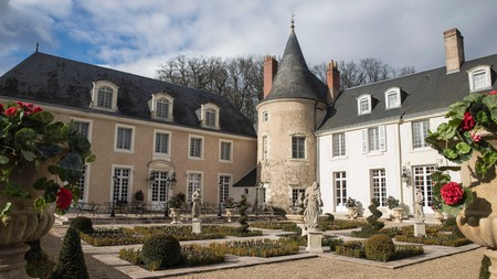 Château de Beauvois sits within grounds in which King Louis XIII used to hunt
