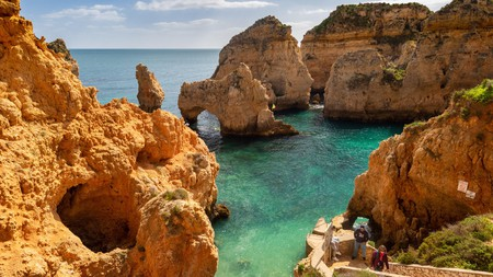 Explore the dramatic cliffs on a boat trip around Ponta da Piedade, Lagos