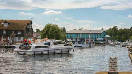 Hiring a boat on the Broads is an idyllic way to enjoy the Norfolk countryside