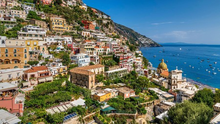 Positano is one of the most beautiful towns along the Amalfi Coast