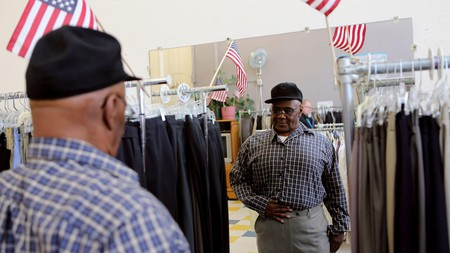 The St Anthony Foundation provides clothes and food to those in need in San Francisco