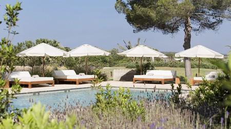 Unwind by the pool at the family-run Fontsanta Hotel on Mallorca, Spain