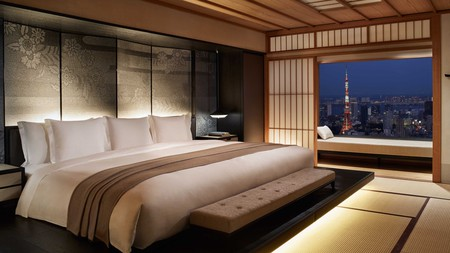 The Ritz-Carlton in Roppongi, Tokyo, awaits with elegant rooms and skyline views