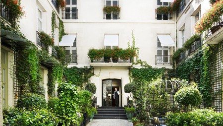 The Latin Quarter is full of hotels, like Relais Christine, which reflect the historic charm of the district