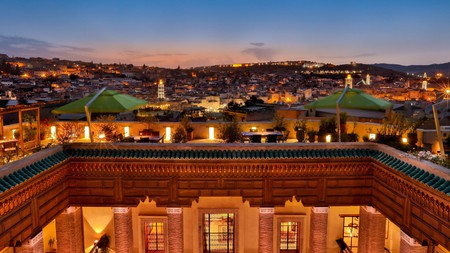 Karawan Riad in Fes, Morocco, dates back to the 1600s