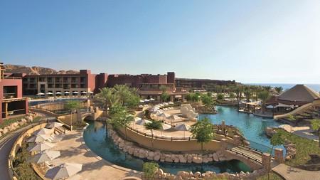 Get thoroughly pampered at the Mövenpick Resort & Spa Tala Bay Aqaba in Jordan