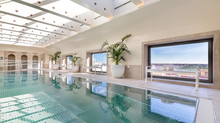 The spa at Barceló Torre de Madrid comes with spectacular views