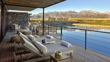 Enjoy pared-back luxury at the The Vines Resort and Spa Argentina