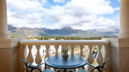 The only sight more spectacular than the Fairmont Chateau Lake Louise is the view of the Rocky Mountain ridge in which it sits; this luxury pad in Banff National Park will exceed all your expectations