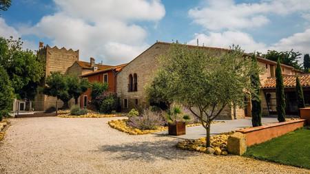 La Villa Duflot's gourmet restaurant serves regional and Catalan dishes