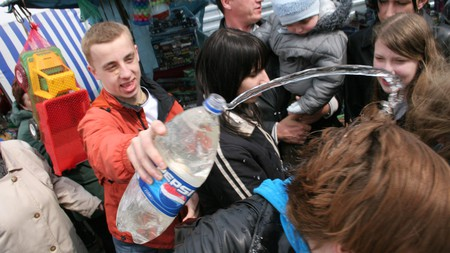 If you're in Poland on Easter Monday, don't be surprised if you're randomly doused with water
