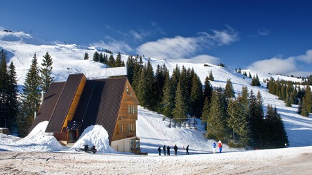 Surround yourself with lush forests and snowy peaks with a stay in Jahorina