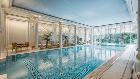 France's spa hotels, with their top-notch facilities, are the epitome of relaxation