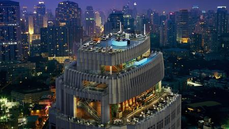 Bangkok Marriott Hotel Sukhumvit's stunning 360-degree rooftop bar earns it a place among the best hotels in Bangkok