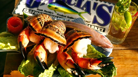 Garcia's Seafood Grille is one of the top spots for Miami's seafood specialties like stone crab