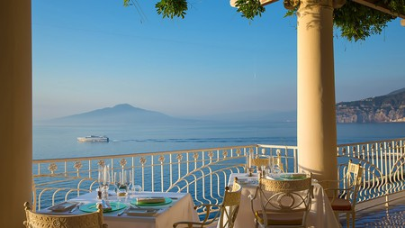 You can't beat the sea views at Bellevue Syrene, one of Sorrento's top boutique hotels