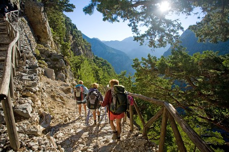 Explore the best hiking trails in Greece