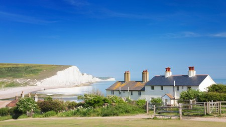 The scenic Seven Sisters get their name from the cliffs along this part of the Sussex coast