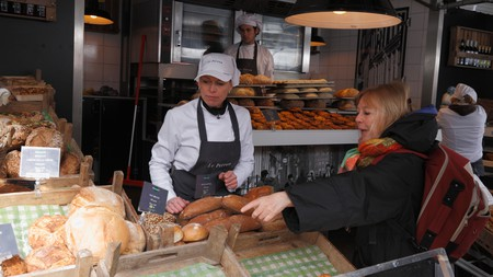 Get your day off to a flyer in Amsterdam by purchasing some freshly made bread