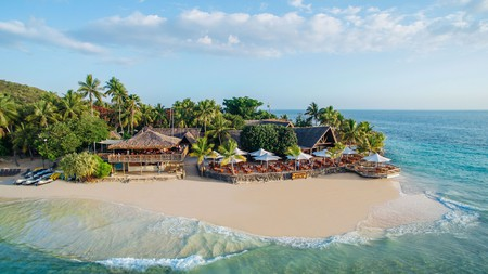Choose to stay in one of the 55 bungalows at Castaway Island Fiji for an experience unlike any other