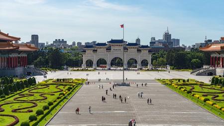 Make sure you watch the changing of the guard when you visit the National Chiang Kai-shek Memorial Hall, Taipei, Taiwan